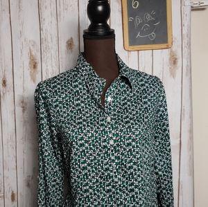 TALBOTS Half button down shirt  Sp